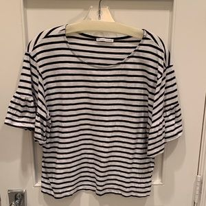Striped Zara Top Small